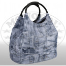 Großhandel Reise- und Sporttaschen:Freizeittasche Jeanslook