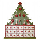 Adventskalender ungefüllt / Design: Weihnachtsbaum