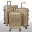 groothandel Koffers & trolleys: Polycarbonaat bagage 3tlg Nepal goud