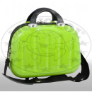 Polycarbonate beauty case Mauritius II green