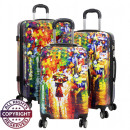wholesale Bags & Travel accessories: Polycarbonate  luggage 3tlg Summer Rain