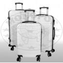 ABS-Kofferset 3tlg Verona weiß