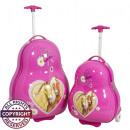 wholesale Suitcases & Trolleys: Polycarbonate childrens set 2pc Horses