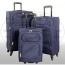 Nylon suitcase 3tlg Tenerife blue