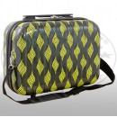 Polycarbonate beauty case Bologna yellow
