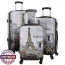 nagyker Táskák és utazási kellékek: Polikarbonát poggyász 3tlg Paris II
