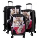 ingrosso Valigie &Trolleys: bagagli in policarbonato 3tlg Cat II