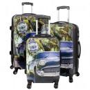 ingrosso Valigie &Trolleys: bagagli in  policarbonato 3tlg Avana