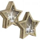 LED Tischdekoration Stern 22cm - Weihnachtsdeko