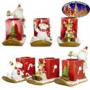 Teelichthalter 15cm - Weihnachtsdeko
