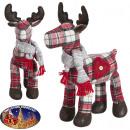 Elk 32cm - Christmas decoration