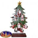 Boom decoraties in het Display Kerstman, sneeuwpop