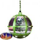 Schneiende LED Hängelaterne 35cm Baum