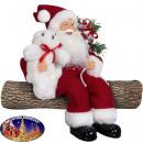 Santa Claus Edvin 45cm - edge stool
