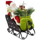 Santa in the sled 60cm
