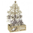 Baumschmuck im Display Tannenbaum Weihnachtsdeko