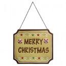 groothandel Woondecoratie: Decoratieteken Merry Christmas 30cm