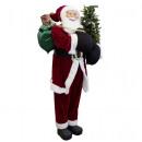 Santa Claus Philip 150cm Christmas decoration
