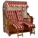 Luxury mahogany beach chair 2.5 seater