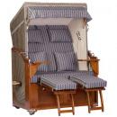 Luxury mahogany beach chair 2 seater