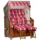 Großhandel Gartenmöbel: Luxus Mahagoni Strandkorb 2 Sitzer