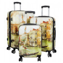 Polycarbonate luggage set 3 pieces Venice