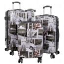 mayorista Maletas y trolleys: Funda de policarbonato Set 3pcs America