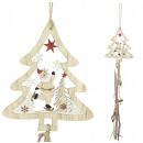 Tree ornaments Fir with Santa 50cm Christmas decor