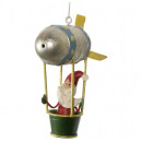 wholesale Home & Living: Tree decoration Zeppelin 11cm Christmas decoration