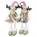 wholesale Figures & Sculptures: Moose 24cm edge stool reindeer