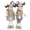 wholesale Figures & Sculptures: Moose 44cm Reindeer Deco Christmas