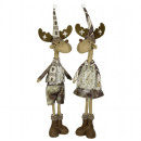 wholesale Home & Living: Moose 65cm Reindeer Christmas Decoration Dekofigur