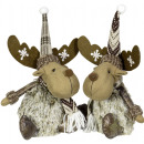 wholesale Home & Living: Moose 25cm Reindeer Christmas Decoration Dekofigur