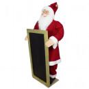 Święty Mikołaj z tablicą 90 cm Święty Mikołaj
