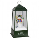 wholesale Wind Lights & Lanterns: Snowing LED lantern motif snowman