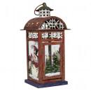 wholesale Wind Lights & Lanterns: Metal lantern 30cm Christmas decoration