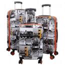 wholesale Suitcases & Trolleys: Polycarbonate suitcase set 3 pieces San Francisco