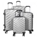 mayorista Maletas y trolleys: Juego de maletas de policarbonato 4 piezas. Messin