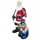 Großhandel Dekoration: XXL Outdoor Santa 190cm mit LED Weihnachtsmann