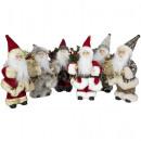 Santa Claus deco figure 23cm Christmas decoration