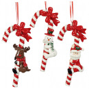 Christmas tree decorations candy cane 14cm