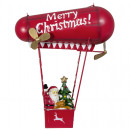 Christmas hanging decoration zeppelin with LED 40c