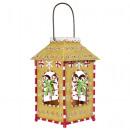 wholesale Wind Lights & Lanterns: Christmas deco lantern 28cm lamp LED candle