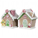 Christmas gingerbread house 13cm table decoration