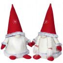 mayorista Casa y decoración: Figura decorativa navideña gnomo 25cm gnomo