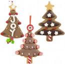 Christmas tree decorations gingerbread tree 12cm