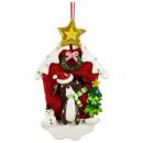nagyker Kert és barkácsolás: Karácsonyfa díszek kutyaház 13cm
