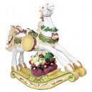 XL table decoration rocking horse 48cm Christmas