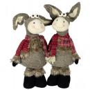 nagyker Otthon és dekoráció: Karácsonyi dekorációs figurális szamár ...
