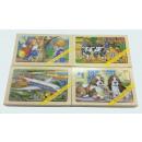 Großhandel Puzzle:Holzpuzzle 4 tlg